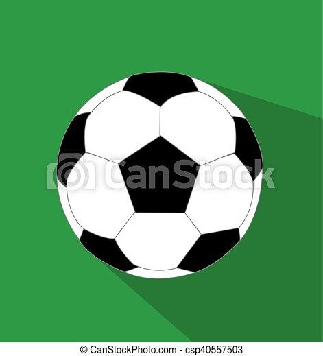 Ilustración de vectores de fútbol - csp40557503