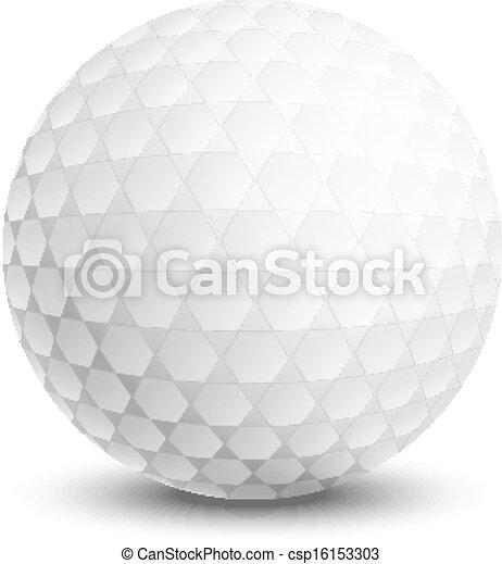 Bola de golf - csp16153303