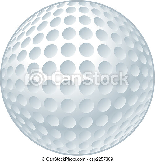 Bola de golf - csp2257309