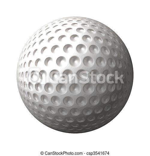 Bola de golf - csp3541674