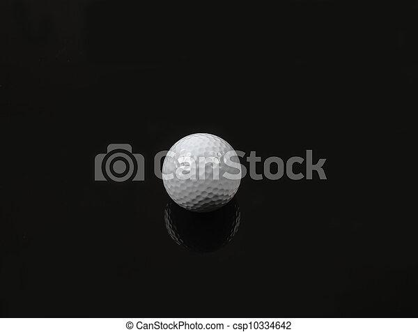 Bola de golf - csp10334642