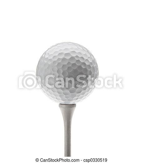 pelota, golf - csp0330519