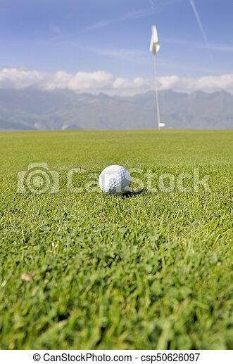 Bola de golf - csp50626097