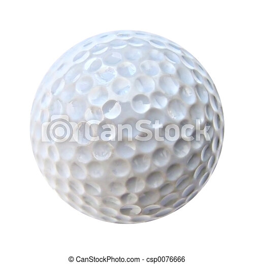 Bola de golf - csp0076666