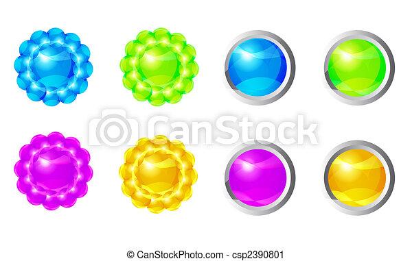 pelota, magia, brillante - csp2390801