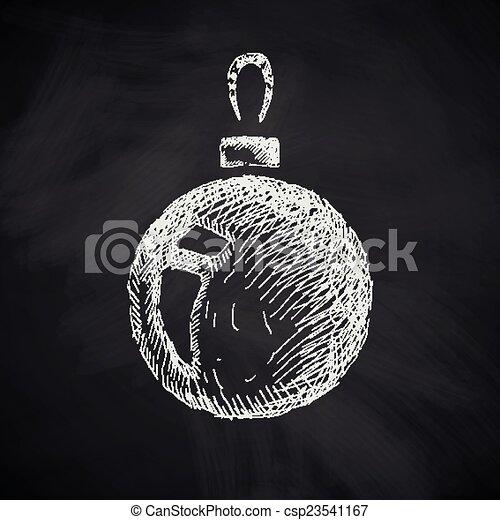 El ícono de Navidad - csp23541167