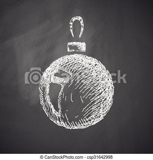 El ícono de Navidad - csp31642998