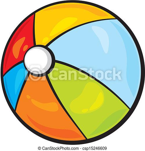 Bola de playa - csp15246609