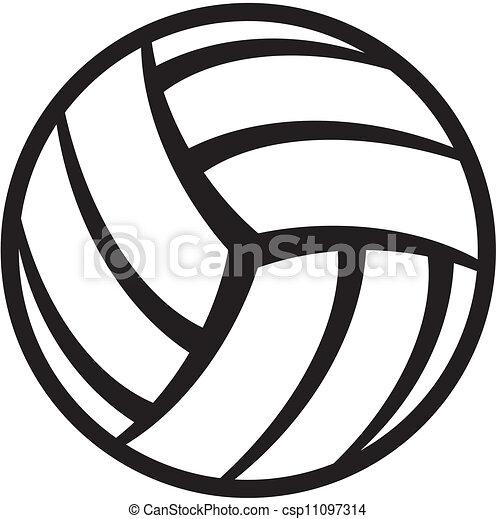 Bola de voleibol - csp11097314