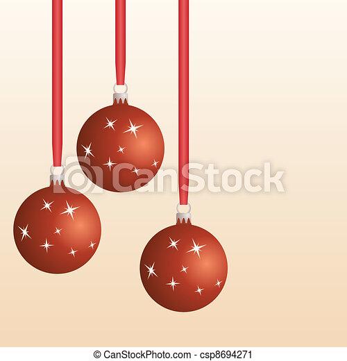 Bolas de Navidad - csp8694271