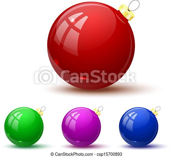 Bolas de Navidad - csp15700893