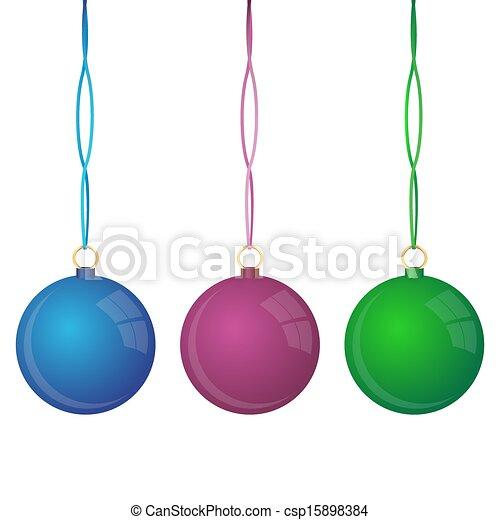 Bolas de Navidad - csp15898384