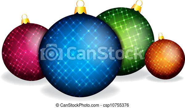 Bolas de Navidad - csp10755376