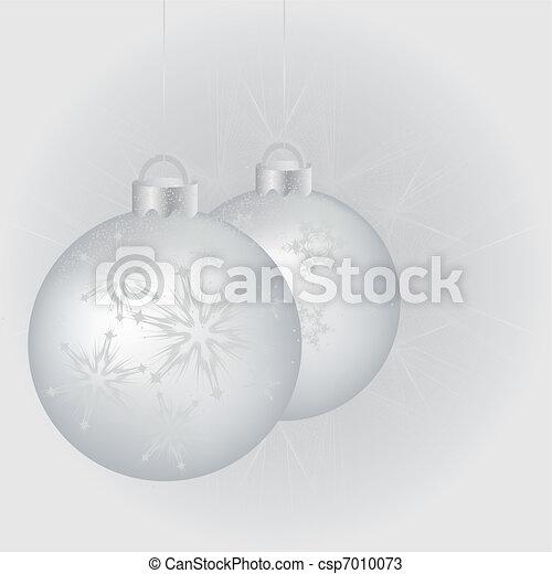 Bolas de Navidad - csp7010073