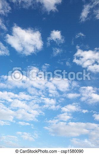 pelucheux, nuages - csp1580090