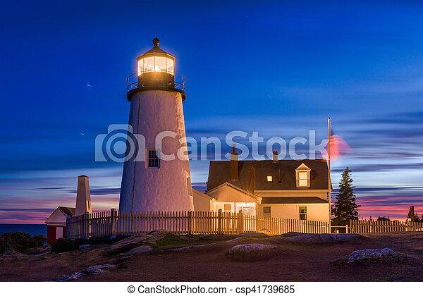 Pemaquid Point Light   Csp41739685