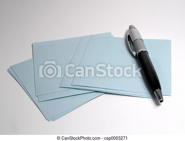 Pen and Paper - csp0003271