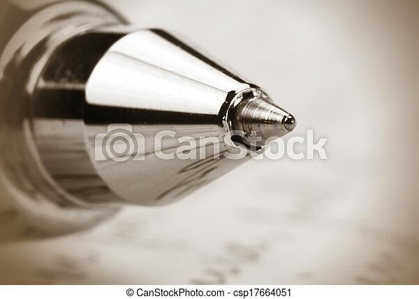 pen, bal punt - csp17664051