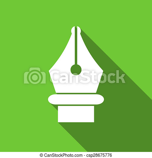 pen flat icon - csp28675776