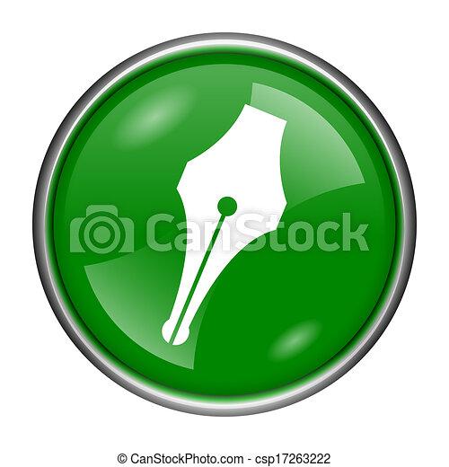Pen icon - csp17263222