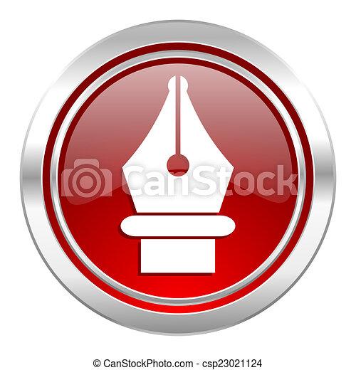 pen icon - csp23021124