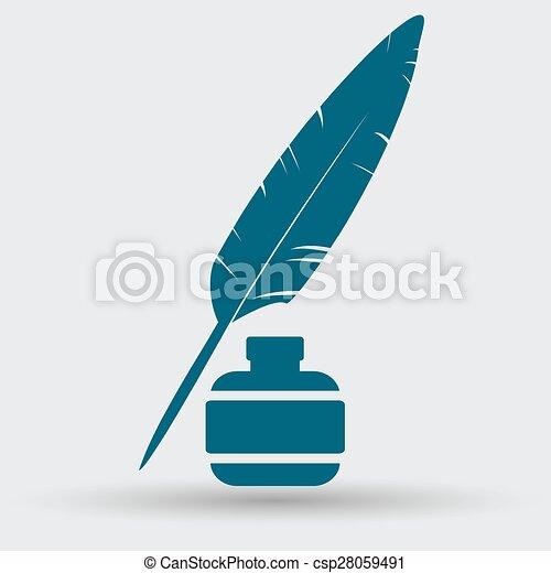 pen icon - csp28059491