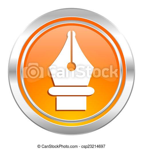 pen icon - csp23214697