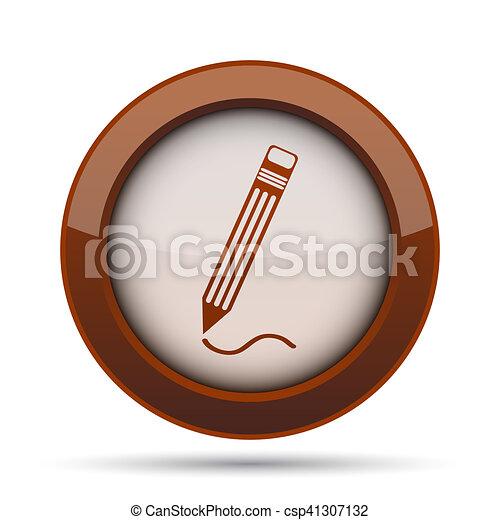 Pen icon - csp41307132