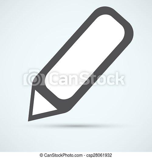 pen icon - csp28061932