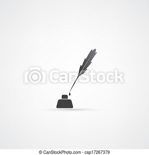 Pen icon - csp17267379