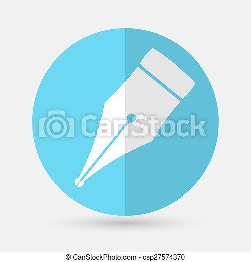 pen icon - csp27574370