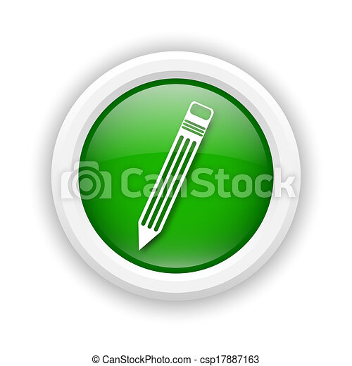 Pen icon - csp17887163