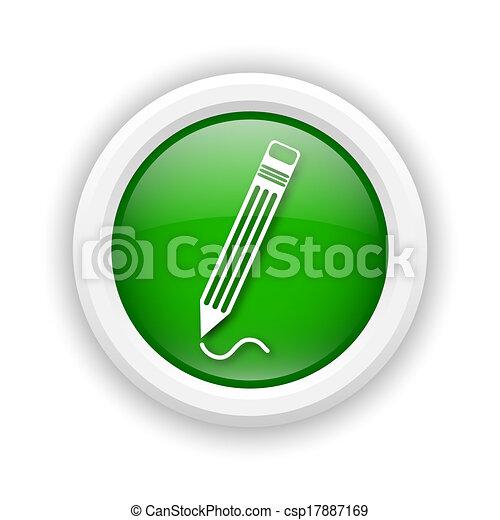 Pen icon - csp17887169
