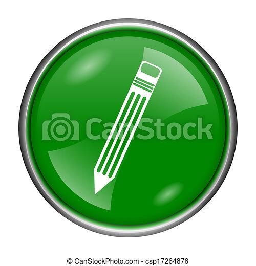 Pen icon - csp17264876