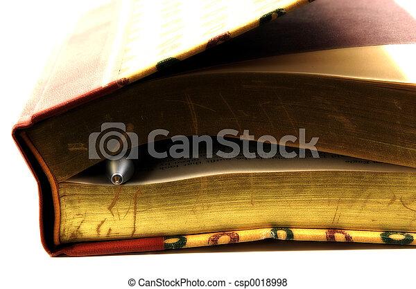 Pen in book 2 - csp0018998
