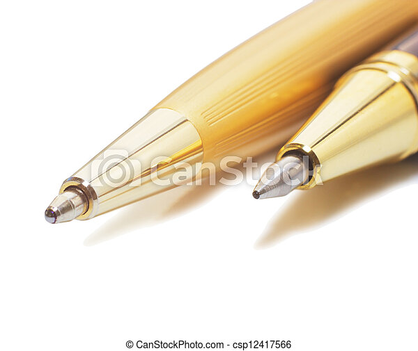 Pen (isolated) - csp12417566