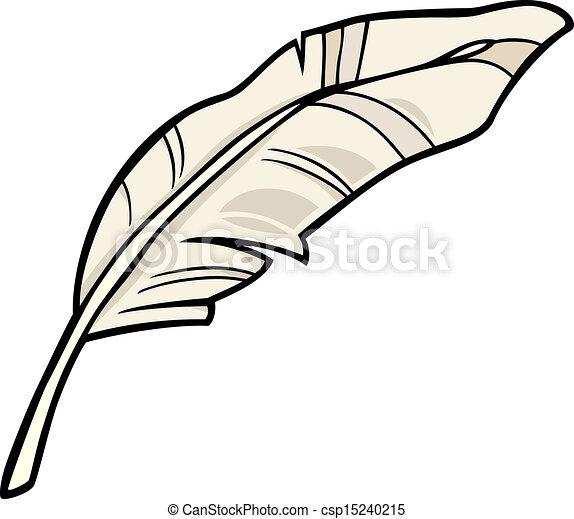pena, arte, caricatura, ilustração, clip - csp15240215