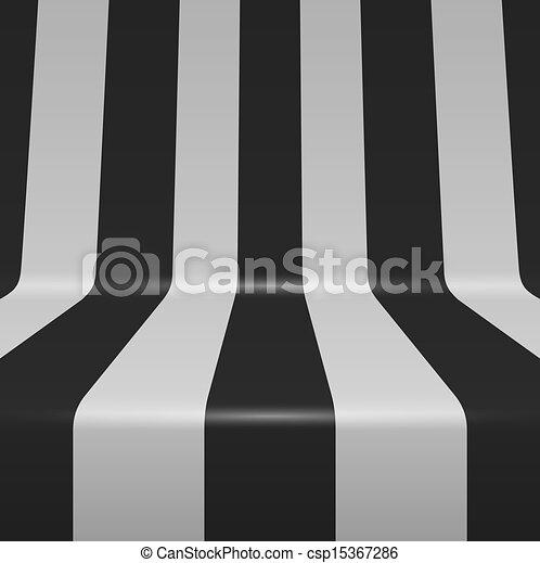 penchant, raies verticales, arrière-plan., vecteur, noir, blanc - csp15367286