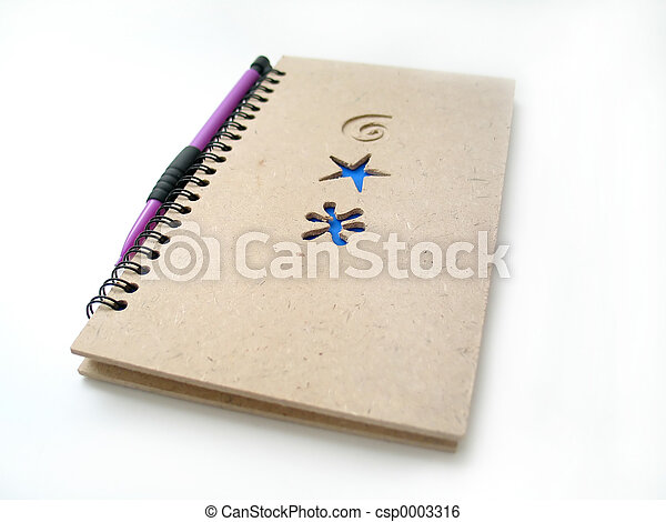 Pencil and Journal - csp0003316