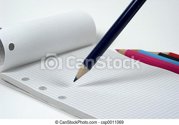 Pencil and Pad - csp0011069