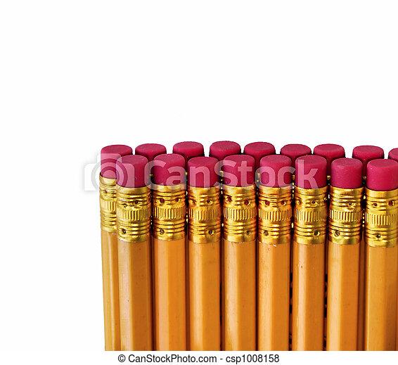 pencil erasers - csp1008158
