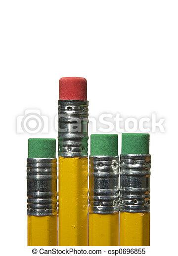 Pencil erasers - csp0696855