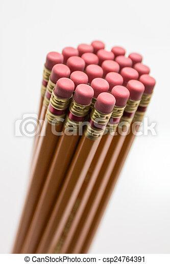 Pencil erasers - csp24764391