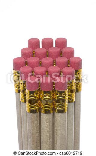 Pencil erasers - csp6012719