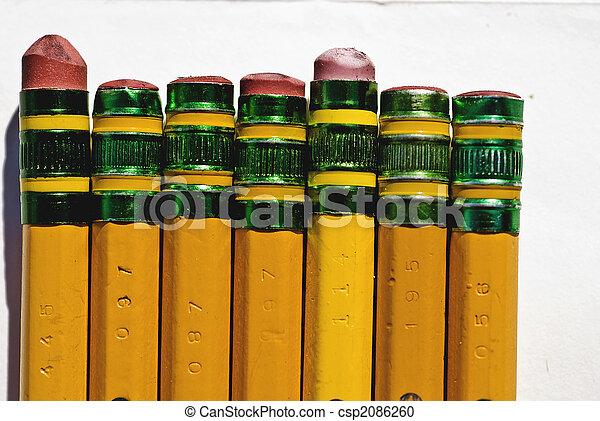Pencil Erasers - csp2086260