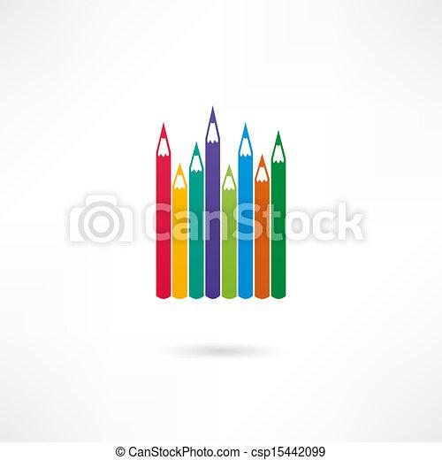 Pencil icon - csp15442099