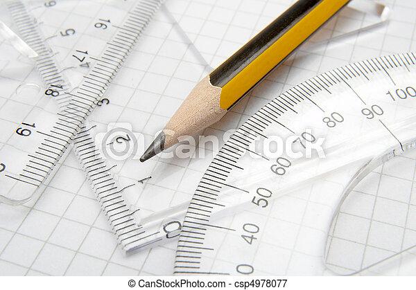 pencil math 1 - csp4978077