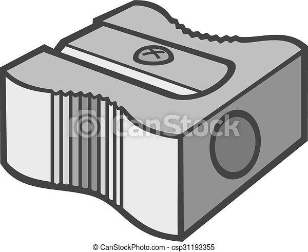 pencil sharpener clipart vector search illustration drawings and rh canstockphoto com  pencil sharpener clipart black and white