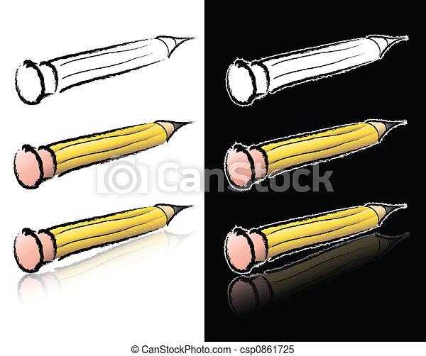 Pencil Sketch - csp0861725