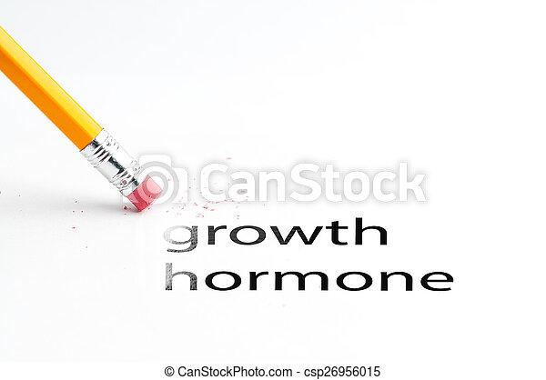 Pencil with eraser - csp26956015